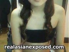 Asiatisches Girl mit geilen Desoous